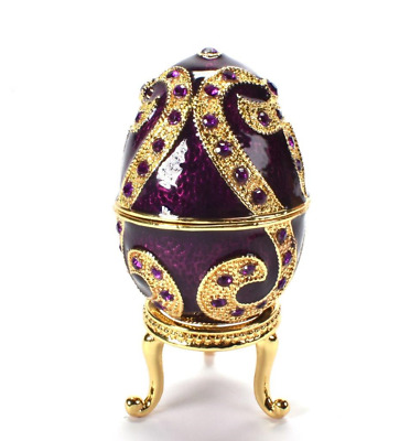 Uova da Collezione in stile Fabergé Atlas Editions N.012