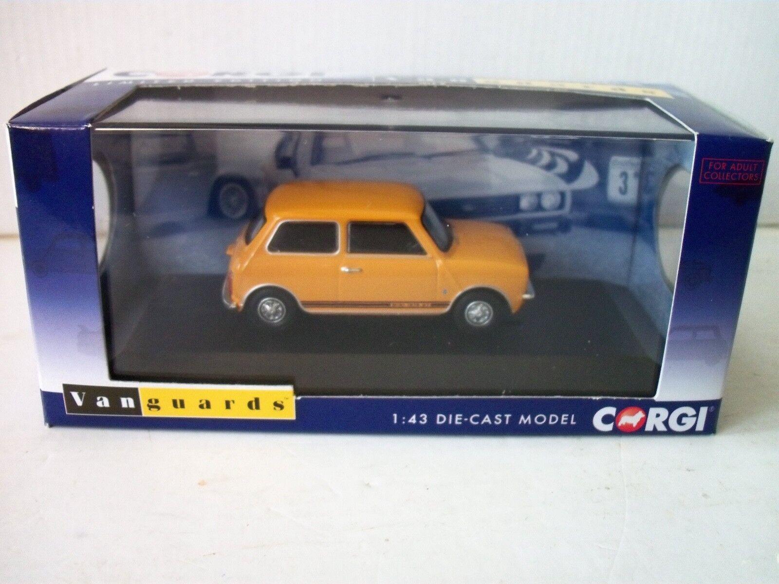 Corgi Vanguard Vanguard Vanguard VA13500 Mini 1275 GT, amarillo, bronce,  Trevor  64a0fa
