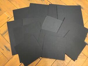 Placa-de-montaje-Negro-Tamanos-Surtidos-14-piezas-Ideal-Manualidades