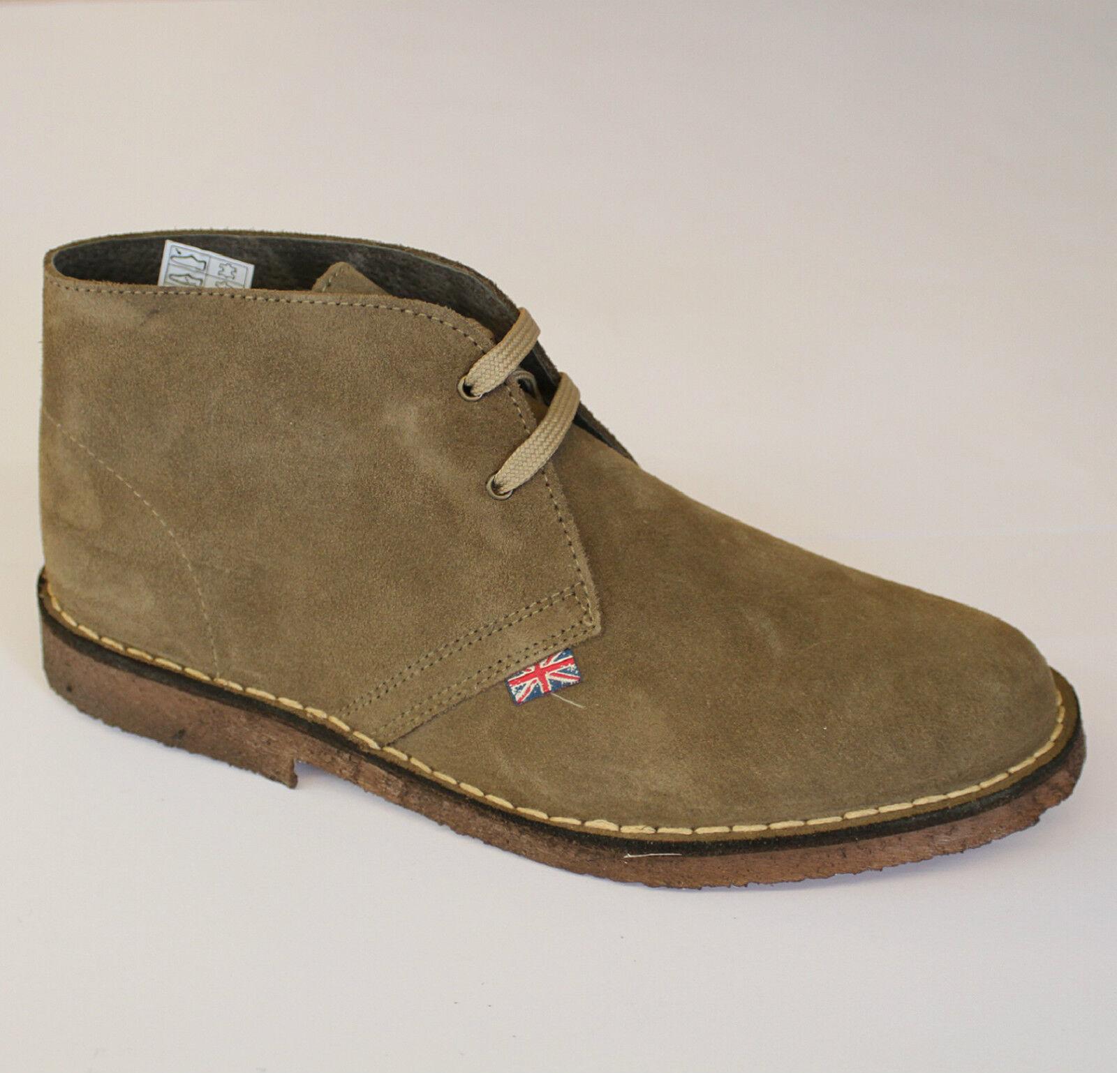 PREGUNTA scarponcino pelle scamosciata Desert Boot UOMO caribou 87000