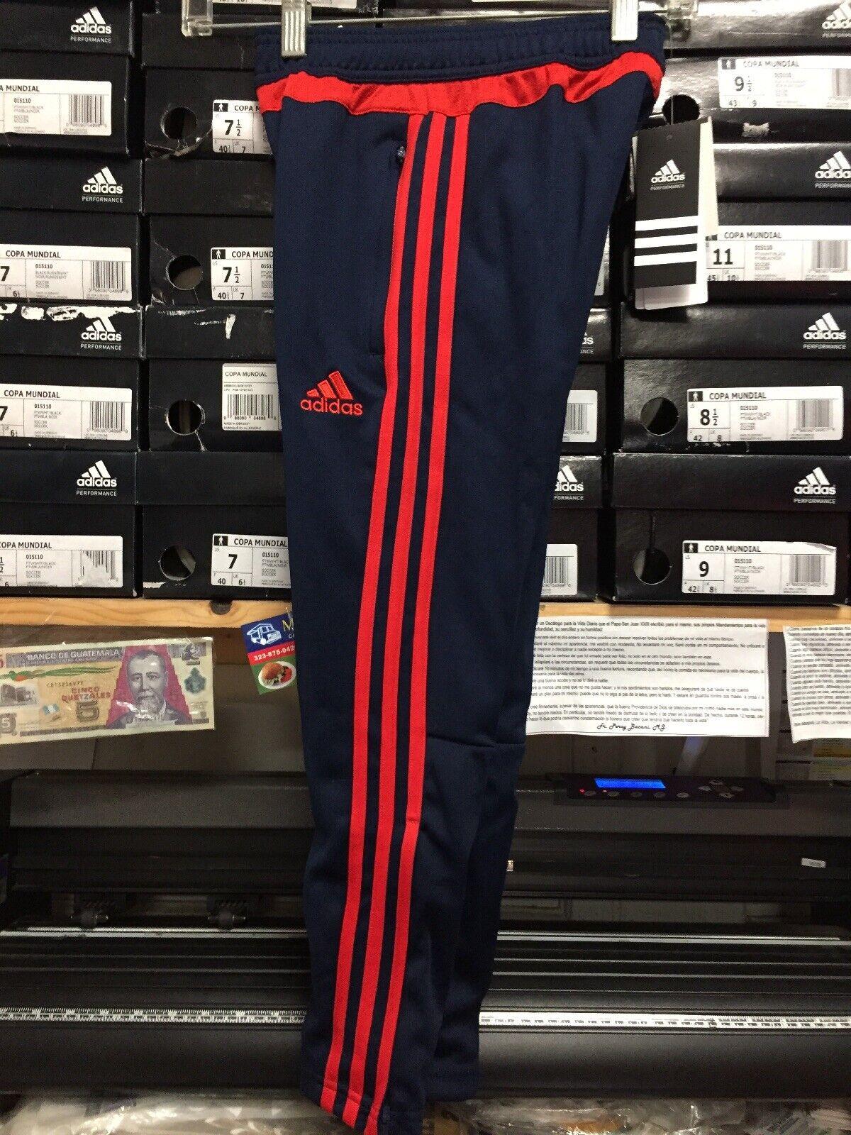 Adidas Tiro 15 Trg Pants Pantalon Adidas Juvenil Navy blueee Red Size Youth XS