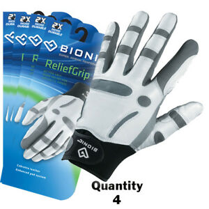 4-x-Bionic-Mens-Arthritic-ReliefGrip-Golf-Glove-Left-Hand-White-29-95-ea