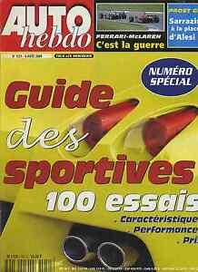 AUTO-HEBDO-n-1251-du-9-Aout-2000-GUIDE-DES-SPORTIVES