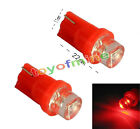 2X T10 W5W 158 168 194 501 LED rojo Side Car Auto cuña Bombilla lámpara 12V