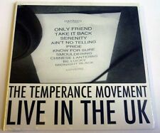 "The Temperance Movement ""Live In The UK"" Tour Digisleeve CD - NEW!"