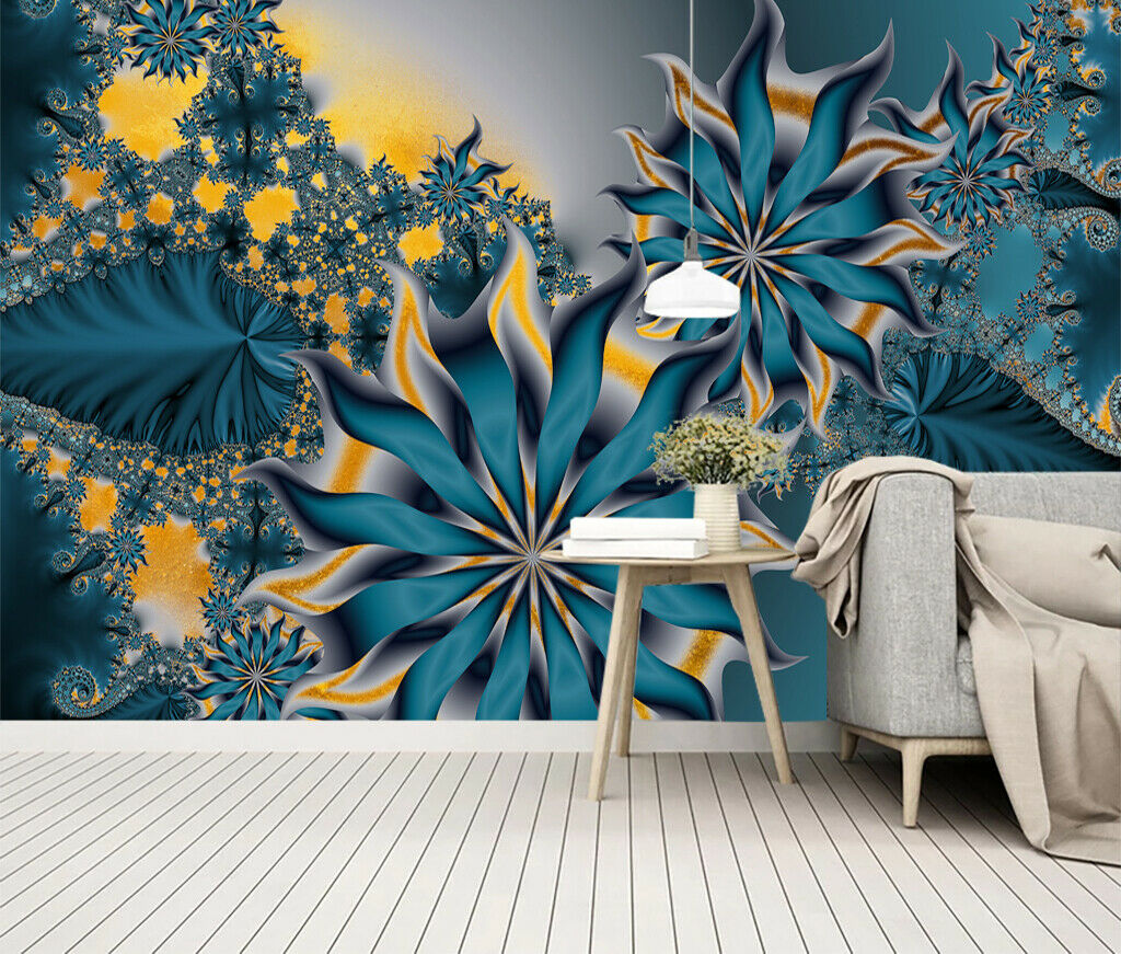 3D Fantasy Flowers I194 Wallpaper Mural Sefl-adhesive Removable Sticker Wendy