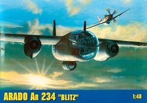 Arado-Ar-234-B2-N-Blitz-Nachtigal-Luftwaffe-MKGS-1-48-gomix-Qualite-Kit