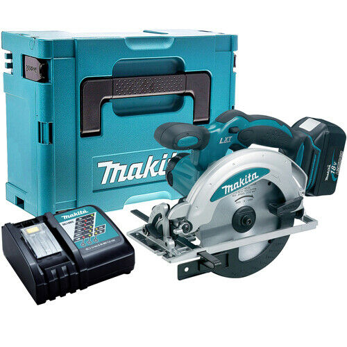 Makita DSS610Z 18V 165mm Circular Saw with 1 x 5.0Ah Battery & Charger in Case