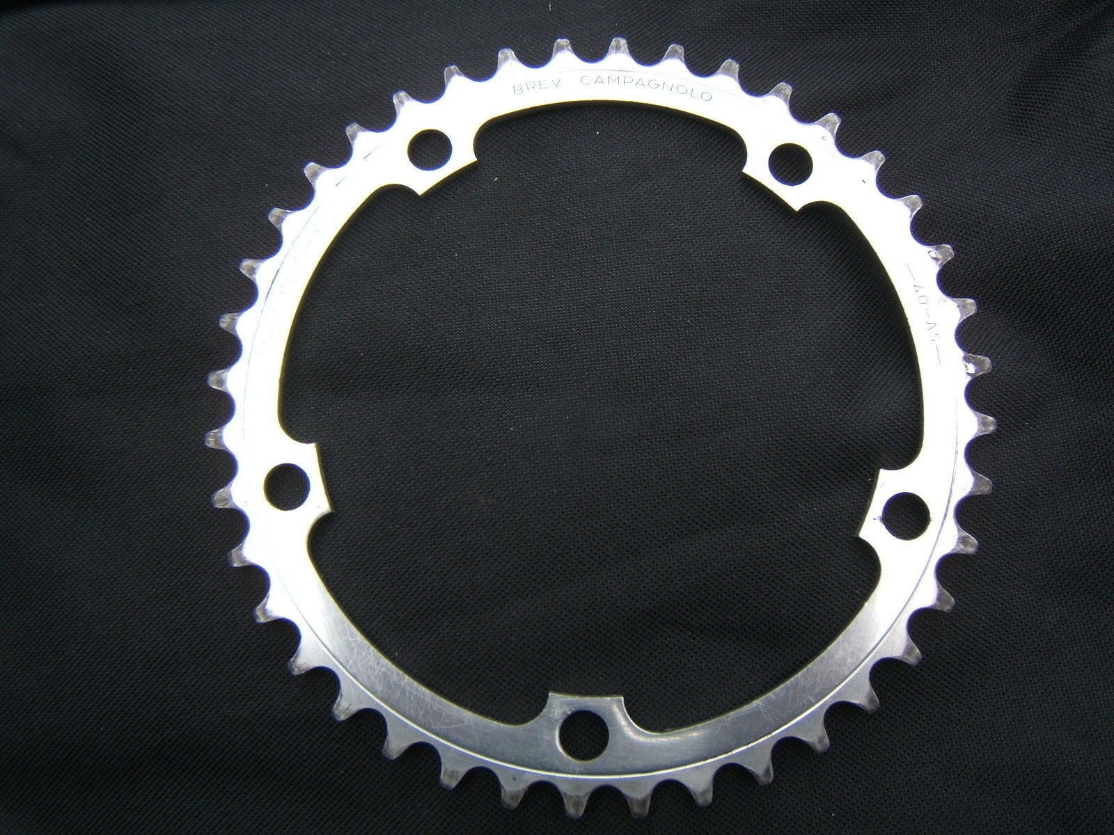 CAMPAGNOLO AS ALLOY CHAINRING 40 TEETH 135 BCD    ITALY 90's USED