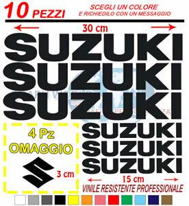 Kit-10-Pz-Suzuki-Adesivi-Sticker-adesivi-moto-stickers-4X4-fuoristrada