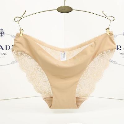 Women Ladies  lace G-string Briefs Panties Seamless Thongs Lingerie Underwear