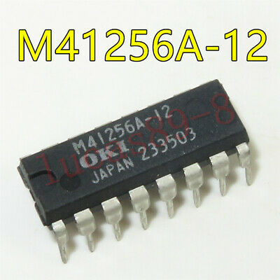 5PCS MSM41256A-12RS M41256A-12 DIP-16 Integrated circuit IC chip NEW