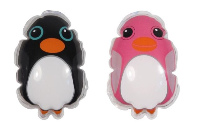 NPW Set of 2 His n Hers Cute Penguin Bath Crème Shower Gel Sachets: Great Gift
