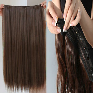 One-Piece-Clip-In-Remy-Hair-Extensions-100-Human-Hair-amp-Hair-Pieces-20-034