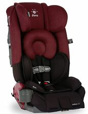 Diono Radian RXT Black Scarlet Convertible Booster Folding Child Safety Car Seat