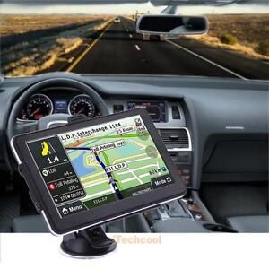 7'' Car Truck GPS Navigation System WITH Free Lifetime Map 8GB Navigator Sat Nav