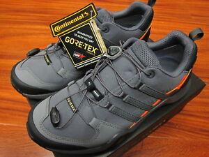 separation shoes dfc5b 61c0c Image is loading Adidas-Terrex-Swift-R2-GTX-Grey-Orange-AC7968-
