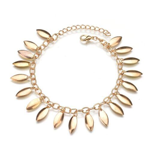 Women Fashion Jewelry Sequin Pendant Anklet Barefoot Beach Foot Chain Bracelet