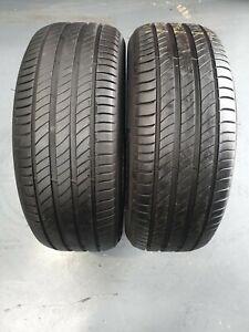 235-55-18-X2-100-V-Michelin-Primacy-4-sur-6-5-mm-Aucune-Reparation-ou-flanc-Damage