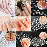 1440pcs SS3-SS20 Glitter Crystal Rhinestones Nail Art Decoration Flatback DIY