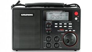 Grundig-Eton-S450DLX-Deluxe-Portable-AM-FM-Shortwave-Field-Radio-Open-Box