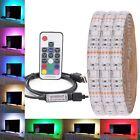 0.5M-5M 5050 RGB LED Strip Waterproof  USB LED Light Strips Flexible Tape DC 5V