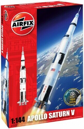 Airfix 11170 - 50th Anniversary of 1st Moon Landing Apollo Saturn V - 1 144
