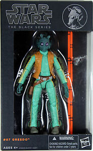 Figurine d'action Greedo de série Star Wars ~ ~ 6    Greedo Action Figure Hasbro 653569898269