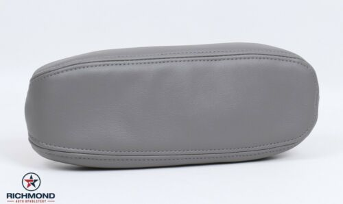 1999 Lincoln Navigator Driver Side Seat Replacement LEATHER Armrest Cover Gray