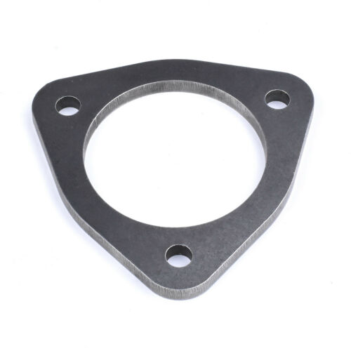 """Universal Weld On 3 Bolt 77mm 3/"""" Flange Spacer Exhaust Decat Pipe Joiner"""