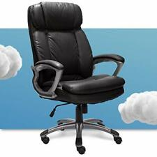 43675 Big Amp Tall Executive Office Chair High Back All Day Comfort Black