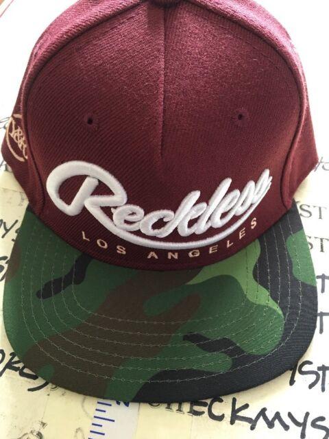 70c842e1e55a8 NEW Y R Young   Reckless BIG R SCRIPT OPS Snapback Hat  32 HF163781