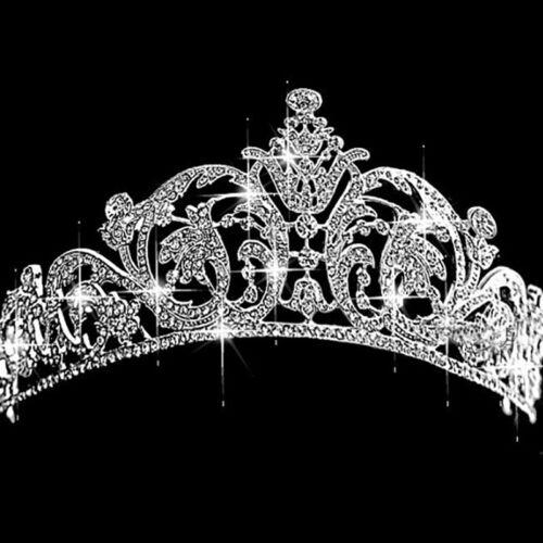Bridal Prom Wedding Rhinestone Crystal Tiara Crown Hair Band Princess Headband