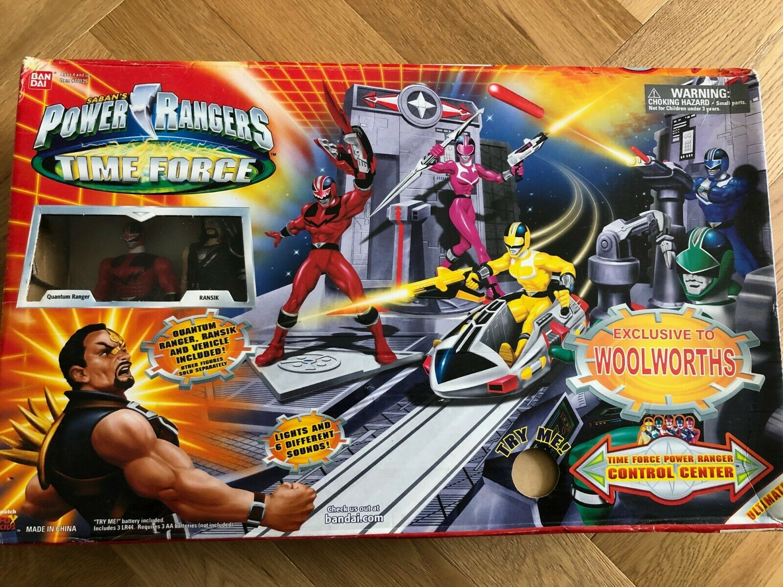 Power Rangers Time Force DX Control Center Ransik Force du Temps RARE