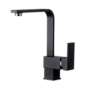 schwenkbare k chenarmatur schwarz k chen wasserhahn sp ltisch einhandmischer 4260561180375 ebay. Black Bedroom Furniture Sets. Home Design Ideas
