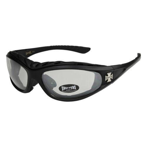 Choppers 202 Sonnenbrille Brille transparent Herren Damen Männer Frauen schwarz