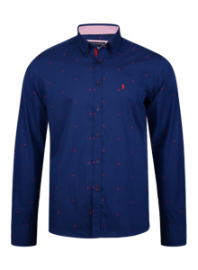 New Kam Mens Big  Tall Casual long Sleeve button down collared 100% cotton Shirt