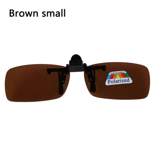 Clip-on Polarized Day Night Vision Flip-up Lens Driving Glasses SunglasHV