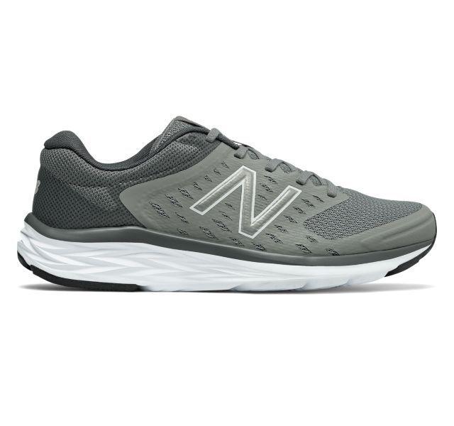 New Balance amplia 490 V5 490v5 Corriendo Hombre 4e amplia Balance anchura gris NIB 5fdec3