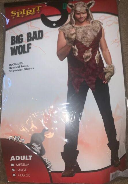 Kids Unisex Grandma Werewolf Wolf Red Riding Hood Halloween Fancy Dress Costume