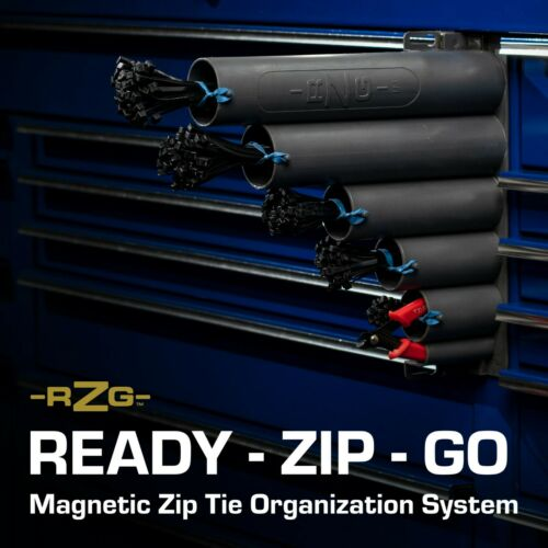 Magnetic base  Ty-D-Up RZG Bare Unit no zip ties or cutter Zip Tie Organizer