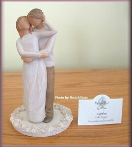 willow tree wedding cake topper together cake topper figurine from willow tree 174 27492