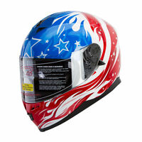 Motorcycle Helmet [dot] Mohawk Bluetooth Compatible,dual Visor,full Face,street