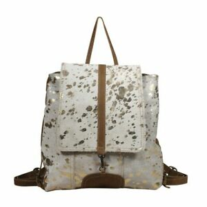 Myra Bag Silvery Touch Leather Hairon Backpack Bag S 2005 Ebay Machen sie noch mehr leute auf sich. ebay