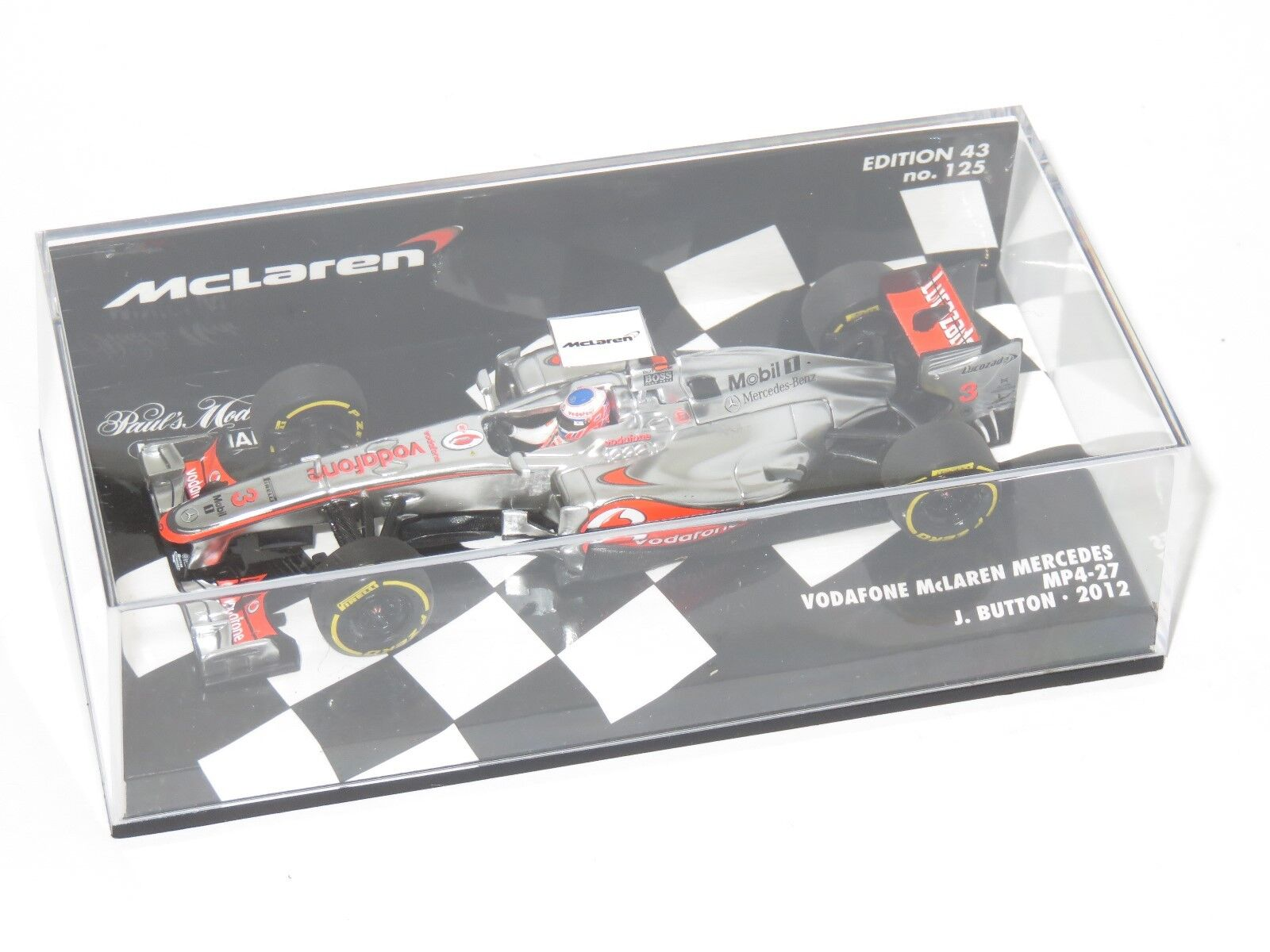 Vodafone McLaren Mercedes MP4-27 2012 Stagione Jenson Button  3