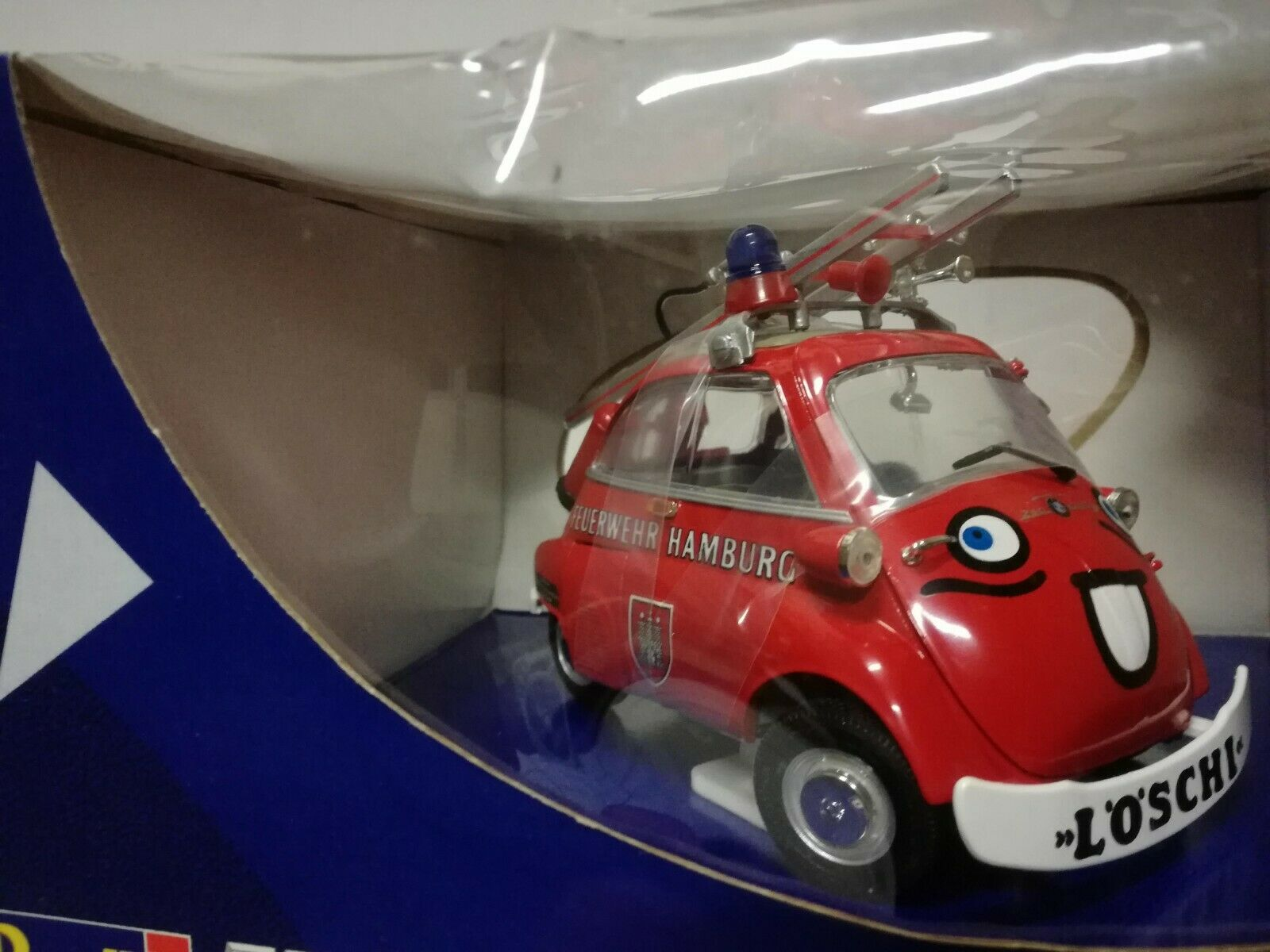 Revell Voiture Miniature 1 18 Jsetta Isetta 250 BMW Pompiers Feuerwehr Hamburg