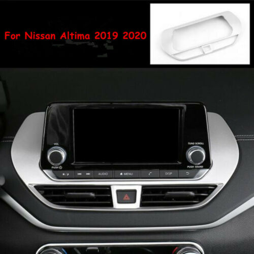 1PCS Central Console Navigation Cover Trim For Nissan Teana Altima 2019 2020