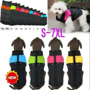 Muti-size-Waterproof-Pet-Dog-Clothes-Winter-Warm-Padded-Coat-Vest-Jacket-Skiwear