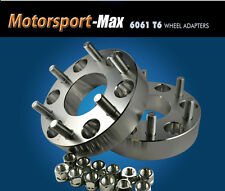 "2 Wheel Adapters 6x4.5 To 6x5.5 | 6 Lug Chevy Toyota Rims on 6 Lug Dakota 1"""