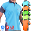 HI-VIS-Polo-Shirt-ARM-PANEL-WITH-PIPING-SAFETY-WORK-WEAR-COOL-DRY-SHORT-SLEEVE thumbnail 45